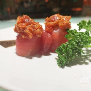 Gunkan spicy tuna special