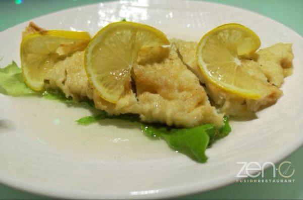 Pollo in salsa di limone