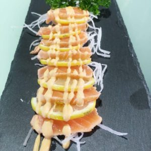 Tataki Salmon special