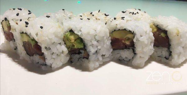 Uramaki tonno e avocado